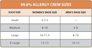 Men S Sock Size Chart Size Charts Maggies Organics