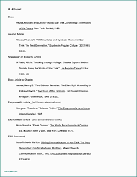 10 Mla Format Bibliography Examples Resume Samples