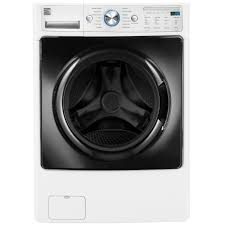 kenmore elite washer and dryer white. kenmore elite 41682 4.5 cu. ft. front-load washer w/steam \u0026 accela wash® - white and dryer w