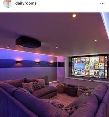 Basement Home Theater Lighting Pin By Portia Agyemang On Home Home Theater Rooms Small