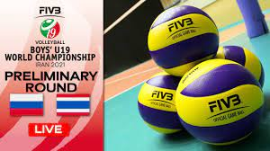RUS vs. THA - Full Match   Group Phase   Boys U19 World Champs 2021 -  YouTube