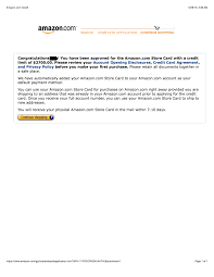 Maybe you would like to learn more about one of these? Just Got Approved For Amazon Store Card Myfico Forums 4036465