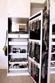 jewelry closet indulge daily 62413 dreamy accessory organization home decor closet home and closet designs