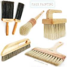 faux painting brushes left to right top to bottom faux bristle flogger hog