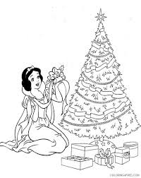 The little readers will be able to empathize with snowwhite and will be happy hope your kid liked these free printable snow white coloring pages online. Snow White Coloring Pages Cartoons Snow White Disney Christmas Printable 2020 5807 Coloring4free Coloring4free Com