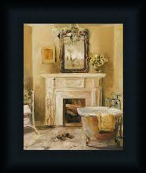 french bath iv marilyn hageman bathroom spa framed art