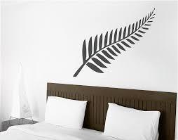 metal silver fern wall art