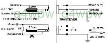 date icom ic 211 ic 701 pin1 mic pin2 ptt