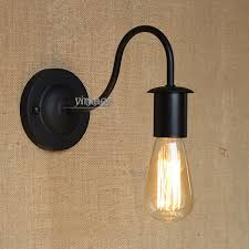 aliexpresscom buy vintage industrial lighting modern. aliexpresscom buy vintage style wall light loft iron simple indoor lighting bedroom black color free shipping from reliable industrial modern p
