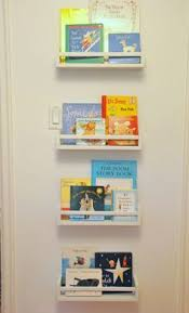 How To Use IKEA Spice Racks For Books (or the easiest DIY wall mounted  bookshelf