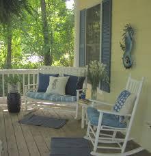 front porch furniture ideas. Yepp Rocking Chair And Bench On The Front Porch Only Thing Furniture Ideas S