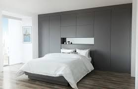 Image Kitchens Glacier Sm Graphite Fitted Bedroom With Double Bed Glacier Sm Graphite Fitted Bedroom With Double Bed John Lewis Fitted Bedrooms In Harrogate Woodhouse Kitchens Bedrooms
