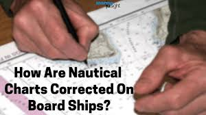 Chart Folio System Of The Ship How Are Nautical Charts Corrected On Board Ships