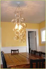 diy glass globe chandelier