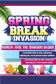 Fundraising Flyer Sample Fundraiser Flyer Templates Spring Break Party Design Click To