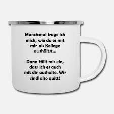 Suchbegriff Kollege Emaille Tassen Online Bestellen Spreadshirt