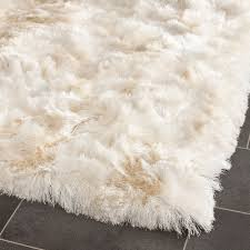 fluffy white area rug contemporary fluffy top 58 hunkydory round rug wool white 8x10