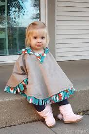 hooded fleece lined cat poncho for girls or boys can be made to be