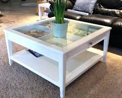 glass top display coffee table ikea shadow box coffee table ideas surprising white glass top hi
