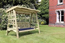highgate wooden swing seat