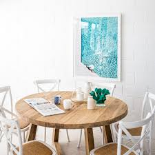 Lee Round Dining Table The Beach Furniture