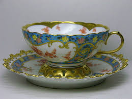 Decorative Cups And Saucers Pirkenhammer flowers decorative patterns in porcelain cups and 53