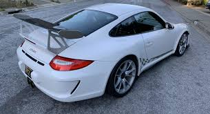 The first porsche 911 gt3 arrived as a statement for customers: Treat Yourself To The Last Porsche 911 Gt3 Rs With A Six Speed Manual Carscoops