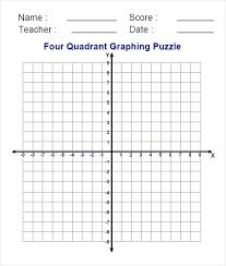 Four Quadrants Graph Math Successwithnadice Club