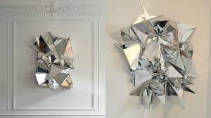 image of mirrored wall art geometric