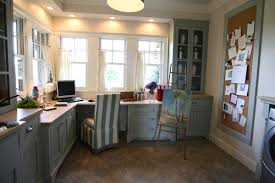 Laundry office Bedroom At The Picket Fence How To Create An Office In Laundry Room At The Picket Fence