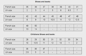 Sebago Docksides Size Chart Size And Fitting