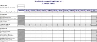 Cash Flow Projection Template Flow Chart Template Sample