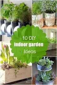 10 DIY Easy Indoor Herb Garden Ideas