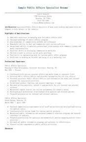Regulatory Affairs Resume All Document Resume