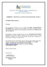 Advertising Proposal Letter Rome Fontanacountryinn Com
