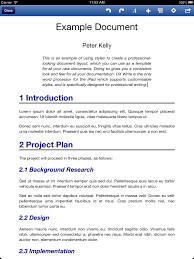 Example Document Created From A Template Ux Write