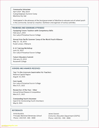 Resume Example Profile