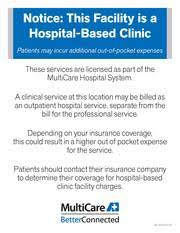 How To Get A Doctors Note For Work Without Insurance Billing And Insurance Multicare