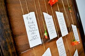 How To Make A Wedding Seating Chart Modern Calligraphy Tutorial Suspended Flower Wedding