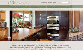 Kitchen Furniture Company Marsh Furniture Website Red Letter Marketing Greensboro