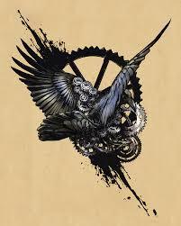 идеи для эскизов татуировки ворон