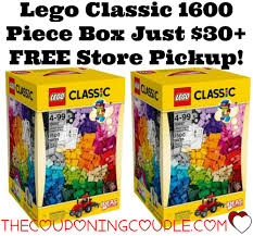 Legos For Free Lego Classic 1500 Piece Box Just 3000 Free Store Pick Up