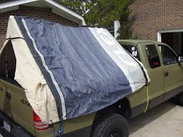 simply take a tarp and cover the tent and use the bungee cords to secure it down