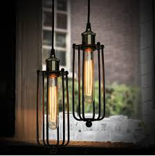 pendant lighting cheap. Hot Vintage Edison Industrial Ceiling Pendant Lamp Hanging Lighting Loft American Country Restaurant Bedroom European Retro Iron Lamps Cheap L