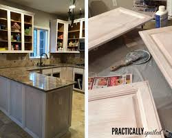 Simple Painting Oak Kitchen Cabinets White From Hate To Great A On Inspiration