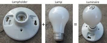 lampholder lamp luminaire