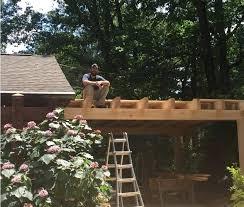 our summer intern timber frame carport diy kits framed carports