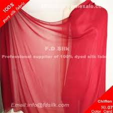 Scarlet Silk Chiffon Fabric For Women Silk Scarves And Fashion Silk  Scarves. Silk Fabric Online