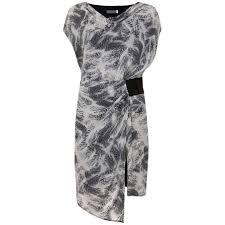 Mint Velvet Indra Print Cowl Neck Dress Dresses Dresses