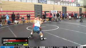 Junior Men 145 Jayden Cardenas New York Vs Derek Fields Ohio - YouTube